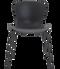 Fritz Hansen Nap Chair 4 Leg Steel Pepper Grey Powder Coated Base