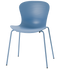 Fritz Hansen Nap Chair 4 Leg Steel Sky Blue Powder Coated Base