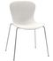 Fritz Hansen Nap Chair 4 Leg Steel Milk White Chrome Base