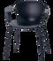 Fritz Hansen Nap Armchair 4 Leg Steel Midnight Blue Powder Coated