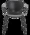 Fritz Hansen Nap Armchair 4 Leg Steel Pepper Grey Powder Coated