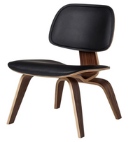 Vitra LCW Plywood Leather Chair
