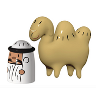 Alessi Amir & Camelus - set of 2 figurines