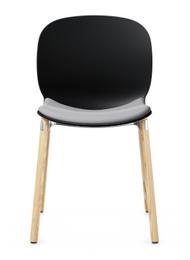 RBM Noor 6080S Dining Chair from Flokk - Wood Leg