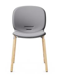 RBM Noor 6080SB Dining Chair from Flokk - Wood Leg