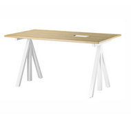 String Work Desk - W140 x D78cm - Oak