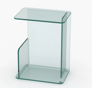 Case Lucent Side Table - Small CLEAR