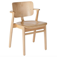 Frame: birch, clear lacquer Seat and back: birch, clear lacquer