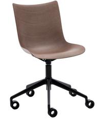 Kartell P/Wood Chair on Wheels