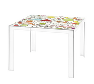 Kartell Invisible Table Kids