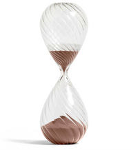 HAY Time Swirl Hourglass Copper - 90 Minutes