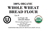 100% Organic Whole Wheat Bread Flour