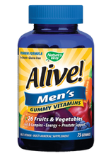 ALIVE MENS GUMMY VITAMINS 75CT
