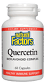 Natural Factors Quercetin Bioflavonoid Complex 60 Caps