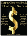 Carpet Cleaners Book of Unlimited Success
