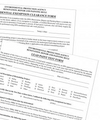 Residential Exemption Clearance Form