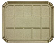 Fiber Lid- 104 to 120 oz Catering Trays | 200 count