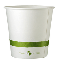 Sample of 24 oz paper bowl, case of 500