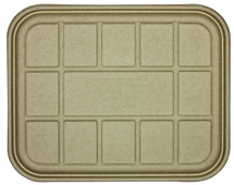 Fiber Lid- 104 to 120 oz Catering Trays  | Sample