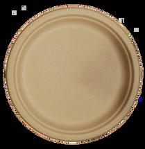 "10"" Fiber Round Plate  | Sample"