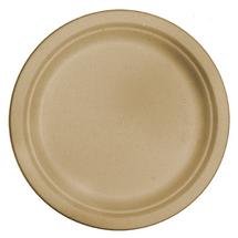 "9"" Fiber Round Plate  | Sample"