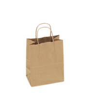 Recycled Kraft Shopping Bag, 8 x 4.75 x 10.5  | Sample