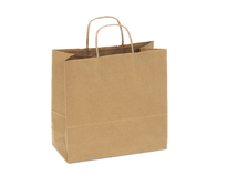 Recycled Kraft Shopping Bag, 10 x 5 x 10  | Sample