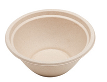 32 oz Bagasse Bowl  | Sample