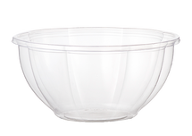 32 oz World Centric Clear Salad Bowl | 600 count