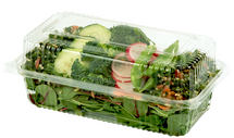 9x5x3 | Compostable Plastic Clamshell Packaging | 250 count