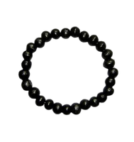 Black Wrist Mala 8mm