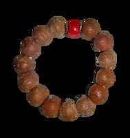 Natural Bodhi Beads Wrist Mala