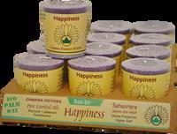 VOTIVE - HAPPINESS - CROWN CHAKRA
