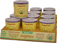 VOTIVE - HAPPINESS - CROWN CHAKRA