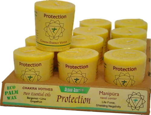 VOTIVE - PROTECTION - SOLAR PLEXUS - Namaste Bookshop