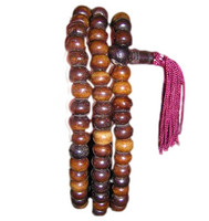 Plain Brown Beads Mala