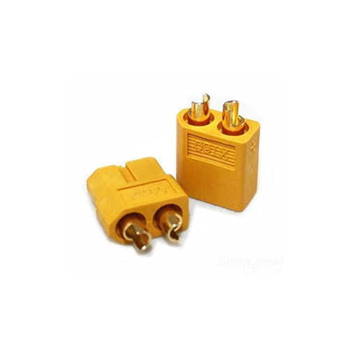 XT60 Male and Female Connectors (2 pairs)