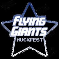"""Flying Giants Huckfest Decal 6"""" x 5.7"""""""