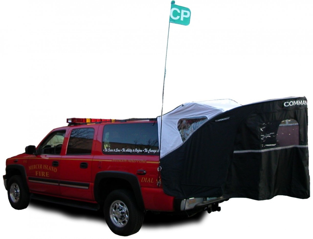 ems vehicle truck tent command post incident command mobile office for tailgate. Black Bedroom Furniture Sets. Home Design Ideas