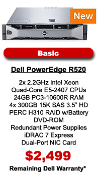 Dell PowerEdge R520 Basic Configuration