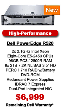 Dell PowerEdge R520 Hi-Performance Configuration
