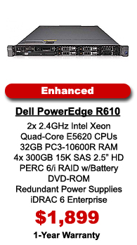 Dell PowerEdge R610 Enhanced Configuration