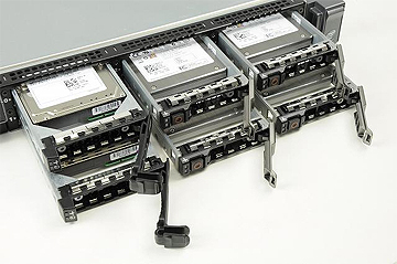 Dell PowerEdge R610 Server Hard Drives & Trays