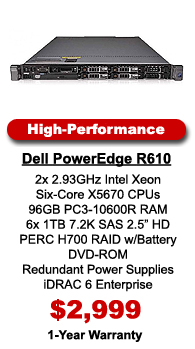 Dell PowerEdge R610 High-Performance Server