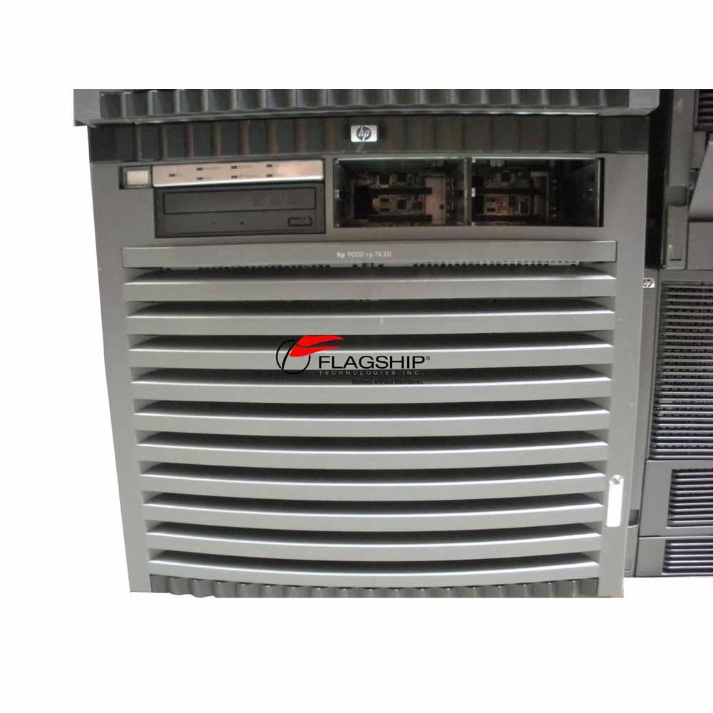 HP A7025A rp7420 Server 16-Way 1.1GHz PA8900 32GB 4x 146GB DVD Rack via Flagship Tech