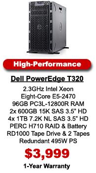 Dell PowerEdge T320 Server High-Performance Configuration