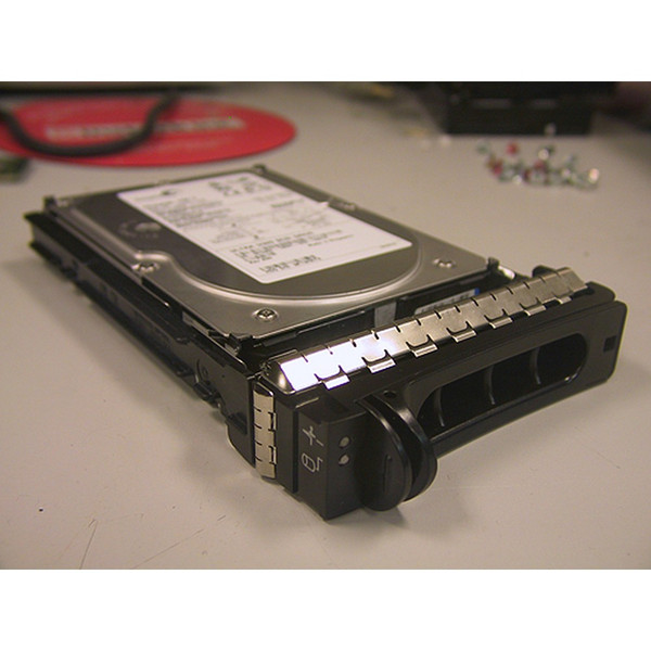 73GB 15K U320 SCSI 80Pin Hard Drive & Tray Maxtor YJ428 for Dell PowerEdge