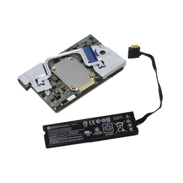 HP 761871-B21 P244BR 1GB 12G FBWC SAS Controller 749800-001 Li-ion via Flagship Tech