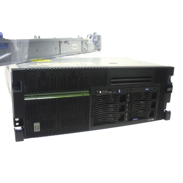IBM 8203-E4A iSeries POWER6 520 Single Core 4.2GHz 4GB 8x 139GB DVD FC 5755 Internal LTO2 Drive OS 7.1 5 Users