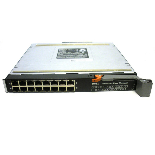 Dell WW060 16-Port 1Gb Ethernet Pass Through Module for M1000e